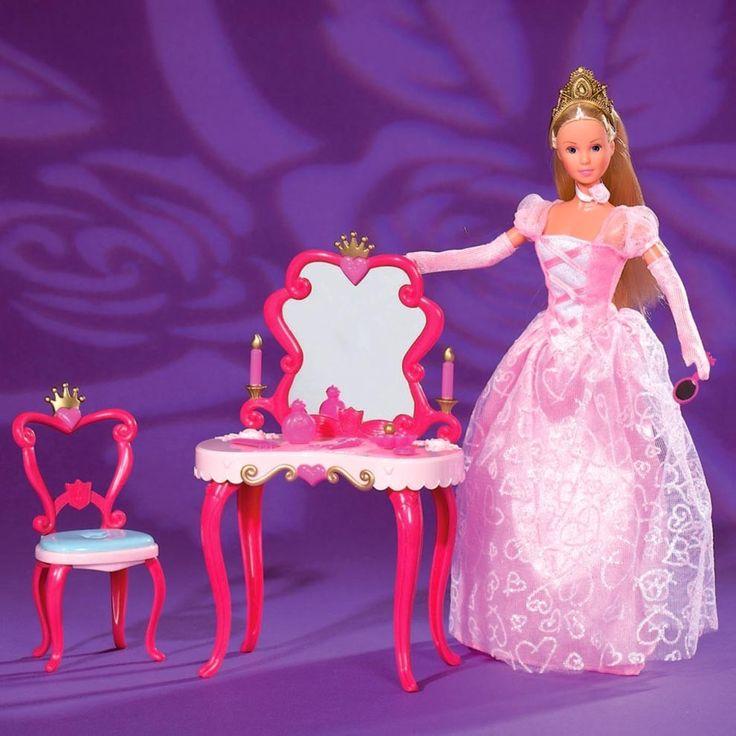 Simba Toys Gt 3y 8y Gt Steffi Love Princess Beauty Table