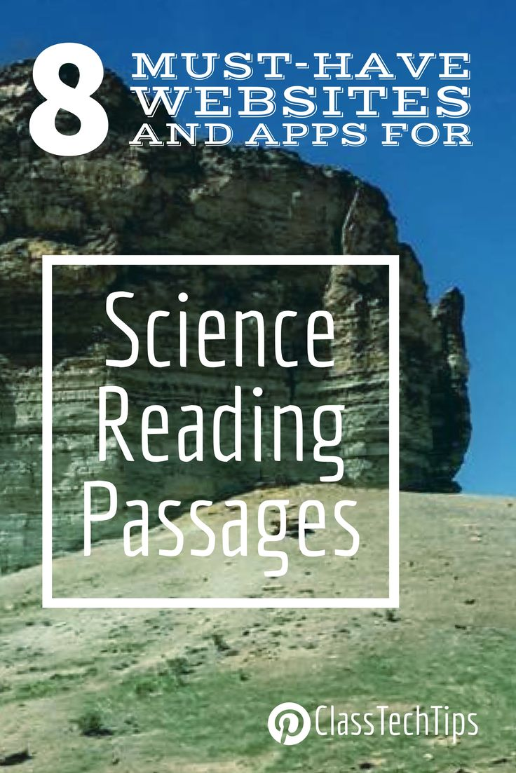 Short passages for students! Check out these science reading ideas for your classroom. Great science apps and science websites for students.