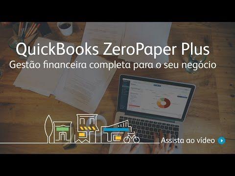 Gerenciador financeiro – QuickBooks e ZeroPaper