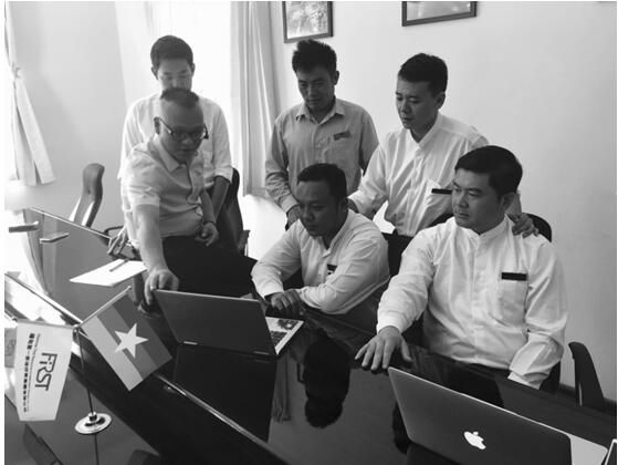 FRI officially entered the Myanmar third-party payment industry to fill the online financial blind spot