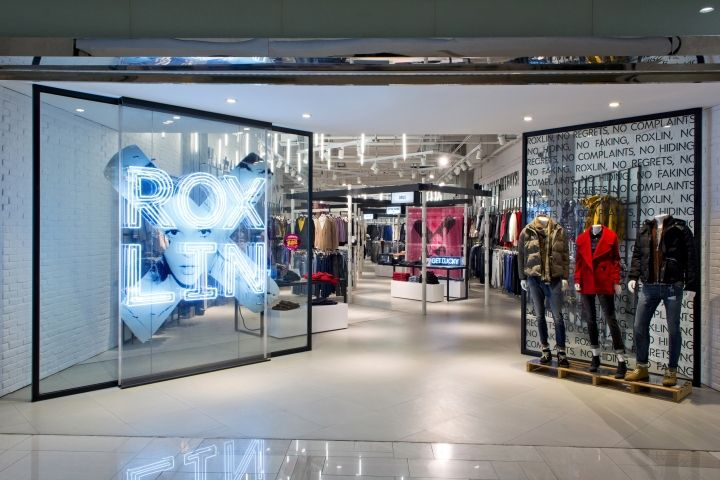 Roxlin store by Dalziel and Pow, Xi'an – China