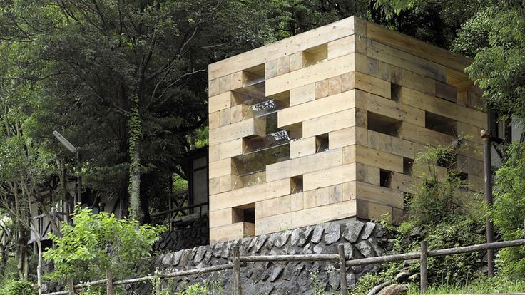 """""""I like to explore hidden places in the architectural field"""" - Sou Fujimoto on Vimeo #Architecture #Final_Wooden_House"""