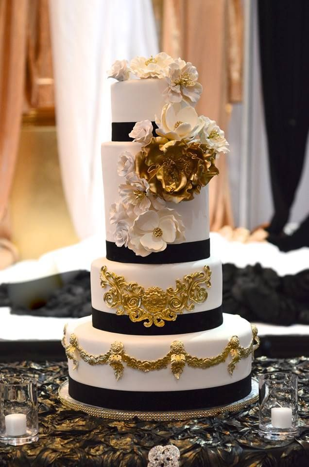 black white gold wedding cake 36 best navy amp gold wedding images on 11906