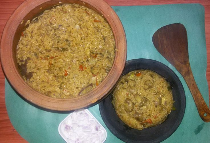 Bananaleaf Recipes: Pot Mushroom Biryani Recipe/ How to make Biryani i...