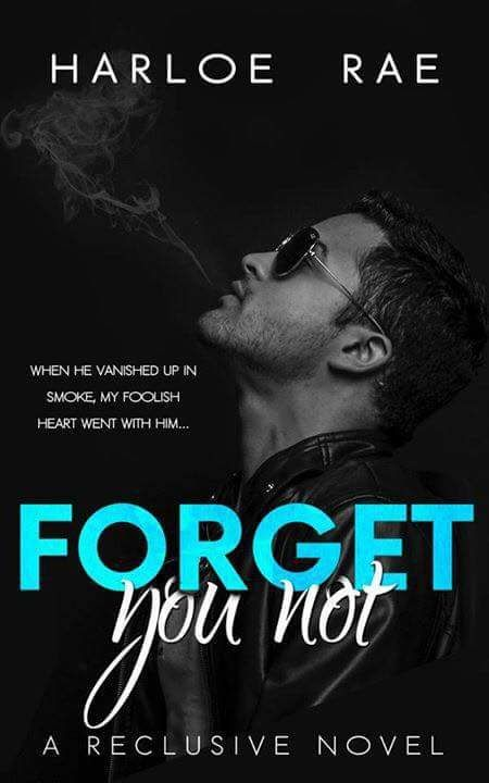 RELEASE BOOST & GIVEAWAYTitle: Forget You NotA Reclusive NovelAuthor: Harloe Rae  Genre: New Adult Contemporary Romance Release Date: September 27 2017    BLURB    Destiny is bogus and fate is fake.  Everything happens for a reason?  Whatever.  I gave up on my fairy tale years ago.    Dont get me wrong Im not settling for less.  All my energy gets poured into a job I love rather than dead end relationships.  Men arent even a blip on my radar these days.  Who needs them?  Except to scratch…