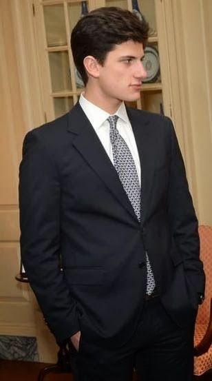 "John ""Jack"" Schlossberg- son of Caroline, grandson of JFK & Jackie Kennedy"