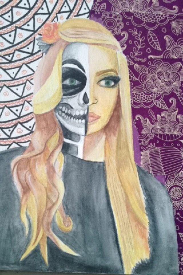 Pin by Katie James on Online portfolio Halloween face