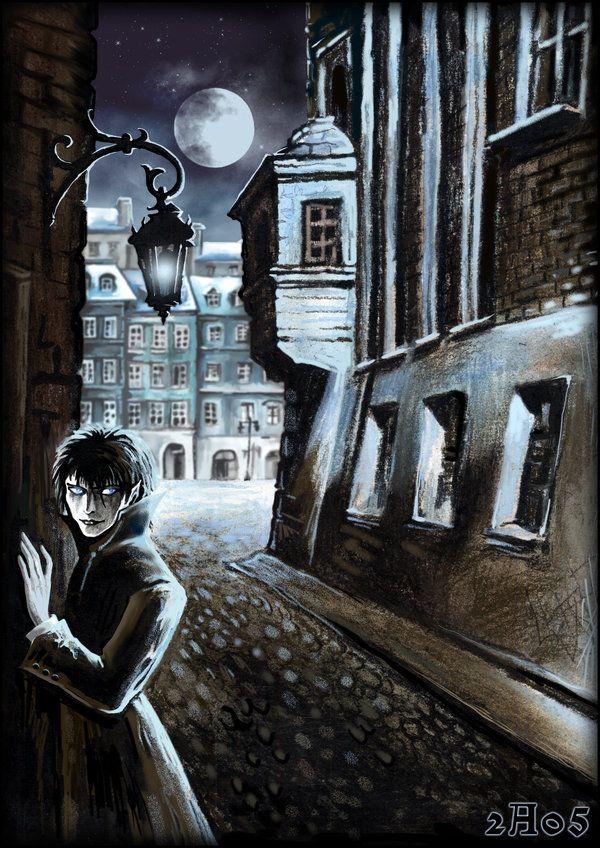 ☆ Vampire in City  :¦: Art By =Candra ☆