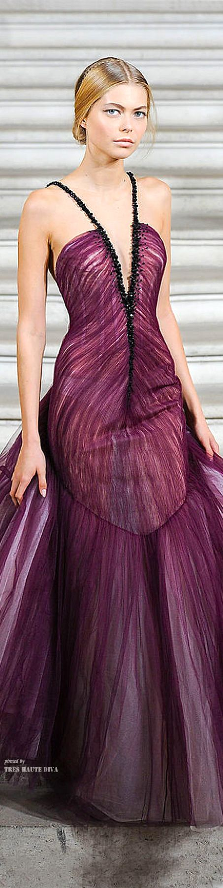 Whoa! Not normally my kind of style but this is absolutely stunning!!  Rami al Ali Fall 2014 ♔
