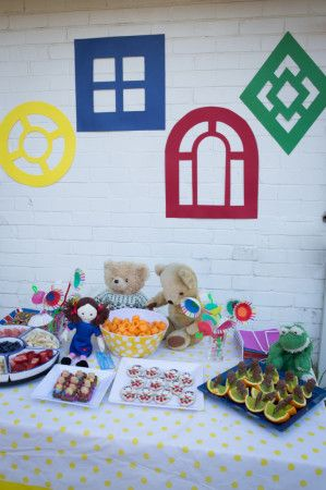 Playschool Part Decorations - Kids Party Space