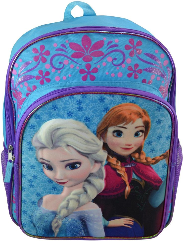 """Wholesale Backpacks Frozen 16"""" Backpack w/ Molded Character & Printed Backgrounds - 48 Units"""