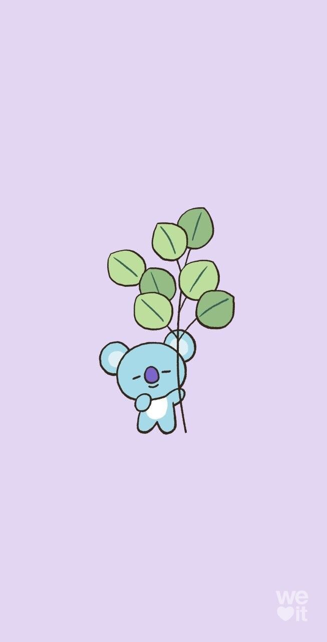 Pin By Katherine K On Bt21 In 2020 Anime Wallpaper Iphone