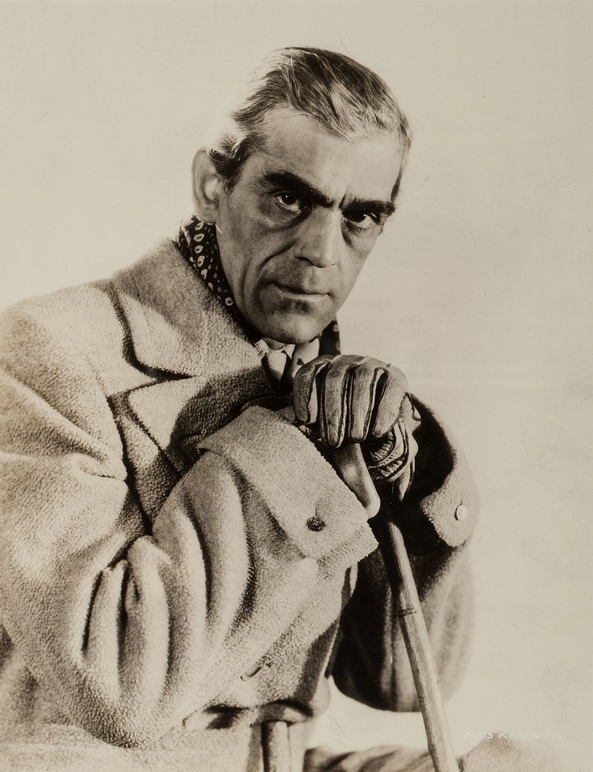Boris Karloff. Just look at that face.  He was so multi talented.