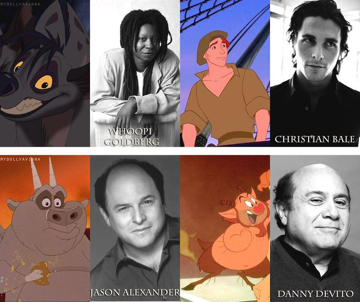 Voices Behind the Less Popular Characters