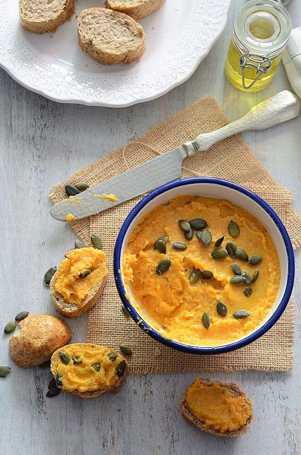 ¡Qué cosa tan dulce!: Hummus de calabaza