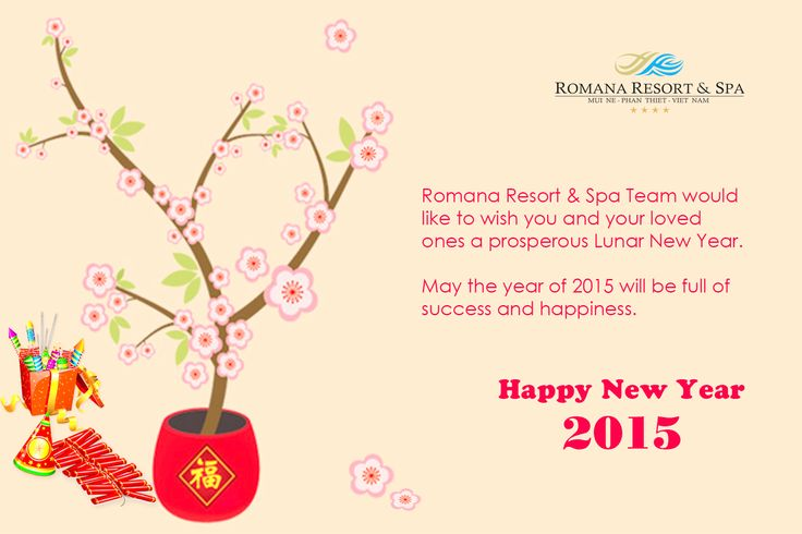 Happy Lunar New Year from Romana Resort & Spa