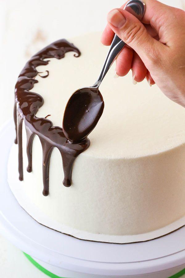 Chocolate Drip Cake Recipe With Images Easy Cake Decorating Chocolate Drip Cake