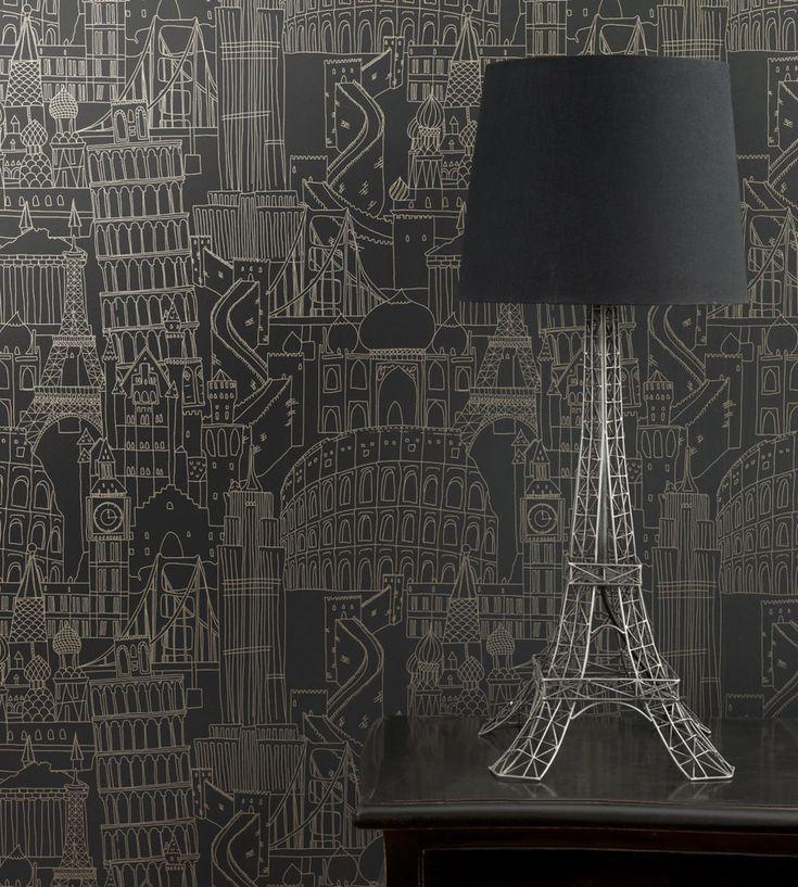 globetrotter Designer wallpaper, Wallpaper, Stunning