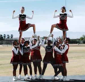 easy cheer stunts | Pop+warner+cheerleading+stunts