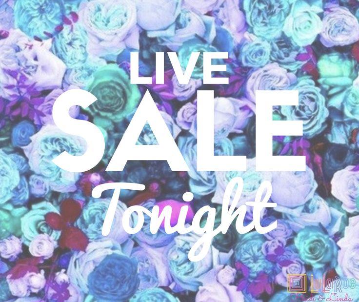 Lularoe Live sale tonight