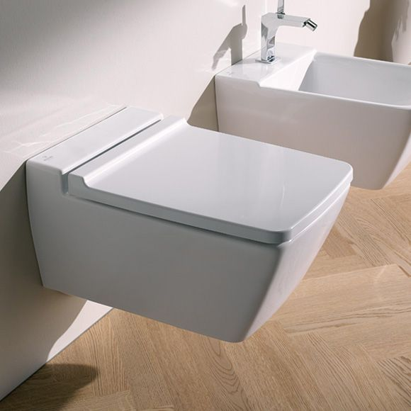 Keramag Xeno² Tiefspül-WC L: 54 B: 35 cm, wandhängend, ohne Spülrand weiß - 207050000 | Reuter Onlineshop