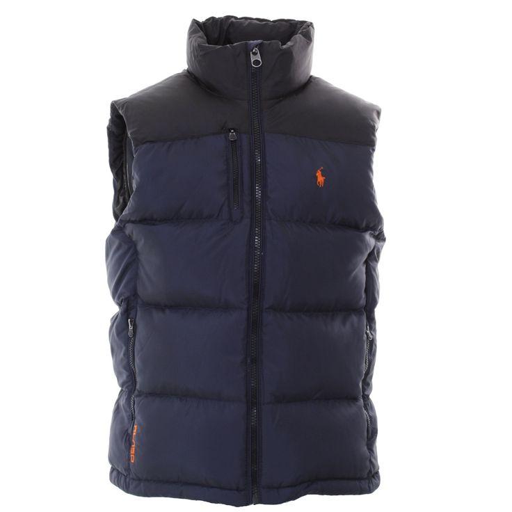 Essential Kit - Polo Ralph Lauren : Gilets : Core Trek Gilet in Navy : John  · Bubble VestMens Designer ClothesRalph ...