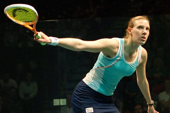 World number two Laura Massaro was crowned the new world women s squash champion Sunday after edging Egypt s Nour El Sherbini in a suspenseful final.  Massaro downed Sherbini 11-7, 6-11, 11-9, 5-11, 11-9 in front of a full house in the Malaysian island of Penang.  Massaro, 30, made an electric start to the first game, using every speck of the court to her advantage to gain the upper hand at 11-7.