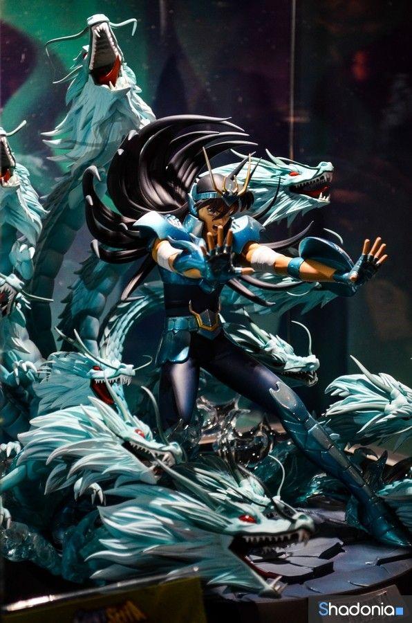 Boneco do Shiryu de Dragão muito fodaaa!!! Diorama Cavaleiros do Zodíaco #shiryu #cdz #toy Saint Seya Action Figure Miniatura