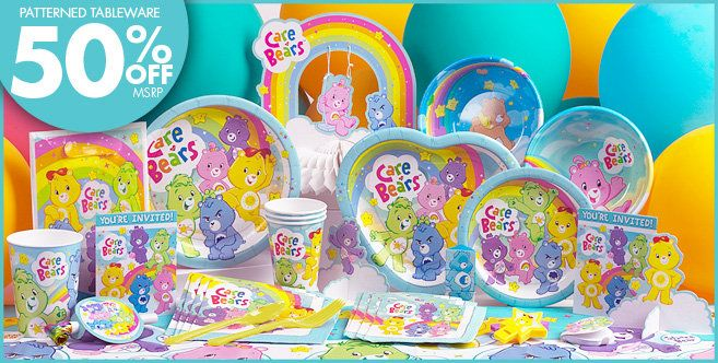 Care Bears Party Supplies - Care Bears Birthday - Party City