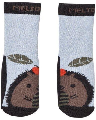 Melton Abs Sock Terrycotton - Hedgehog Dark Grey Melange