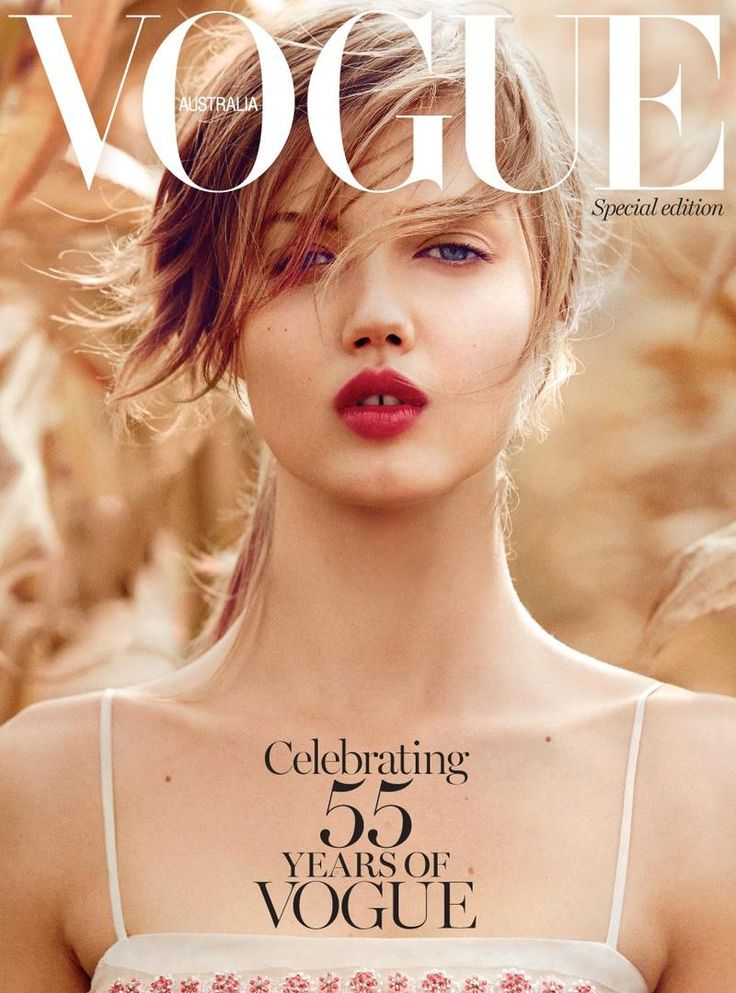 Lindsey Wixson for Vogue Australia December 2014 Special Edition Cover