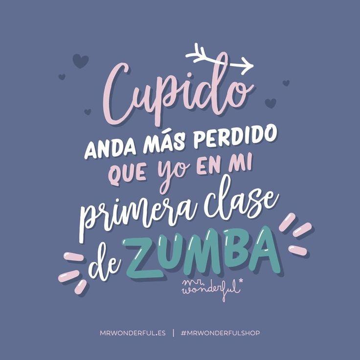 ¿A tu Cupido también le cuesta seguir el ritmo? #mrwonderfulshop #cupido #love #zumba #quotes