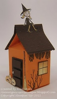 House from the milk carton die
