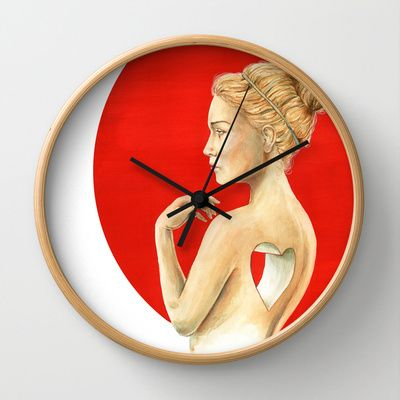 Vacancy  Wall Clock by Stephane Lauzon - $30.00
