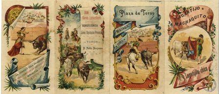 Gran corrida de Beneficencia Recto. 17 de Julio de 1904.  Es29072ADPMPH30:2a