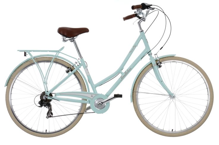 The Pendleton Somerby Limited Edition Hybrid Bike Mint will get everyone's attention as you cycle by