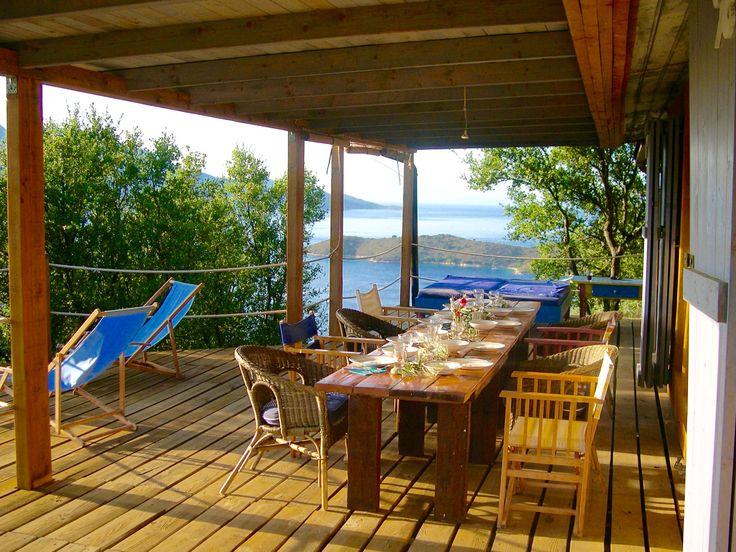 Cottage Mnimata, terrace
