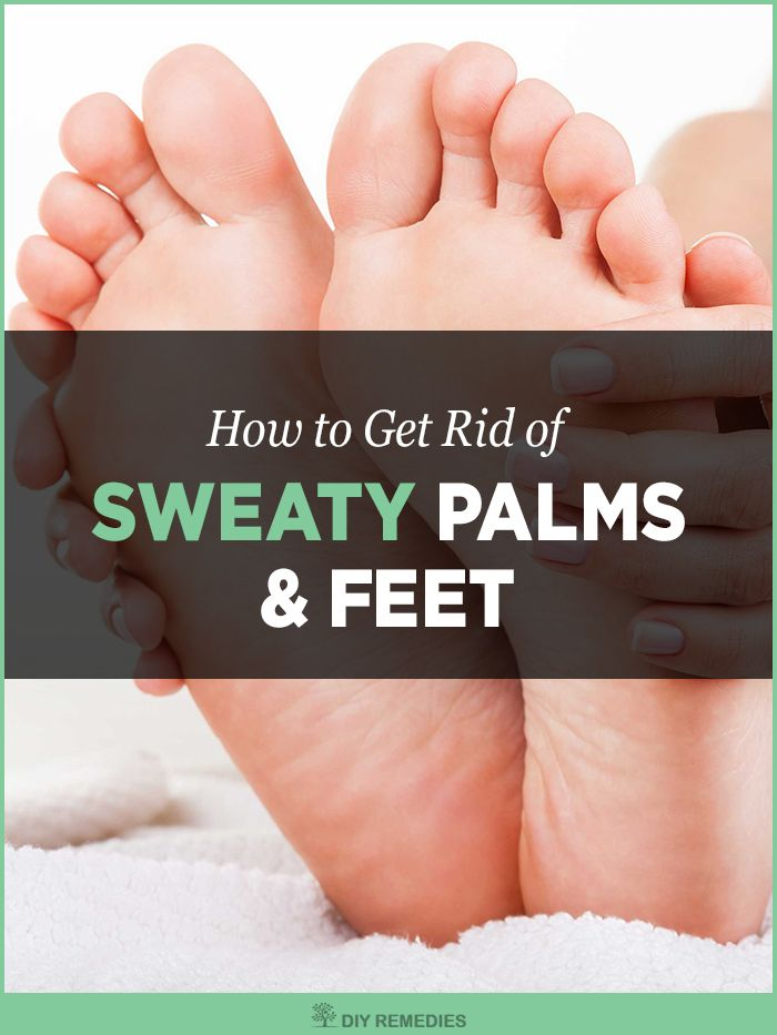 Natural Home Remedies For Sweaty Palms And Feet