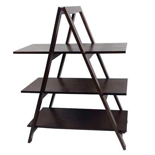 Ladder Shelving Unit - Capuccino