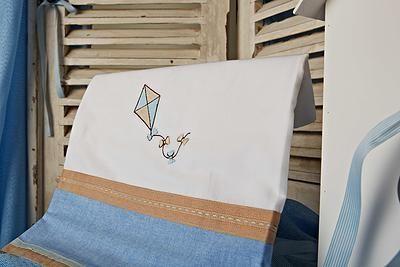 Σετ λαδόπανα βάπτισης χαρταετός  Το σετ περιλαμβάνει :   λαδόπανο πετσέτα μεγάλη - πετσετάκι μικρό σετ εσώρουχα