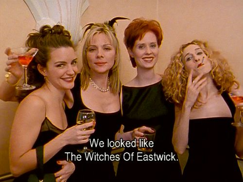 Witches Of Eastwick Quotes: 17 Best Images About Sex & The City On Pinterest