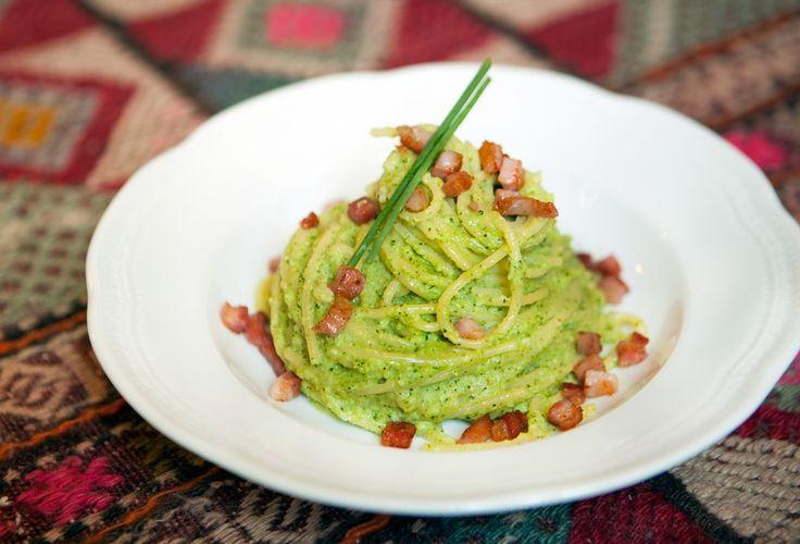 broccoli e pancetta