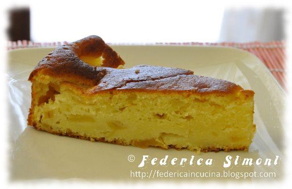 La cucina di Federica: Torta mele e ricotta