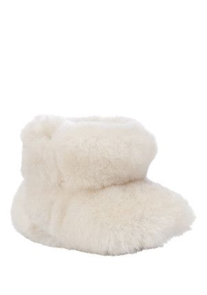 Just Sheepskin® Woolly Baby Booties <3 0-6 months low in stock £30.00