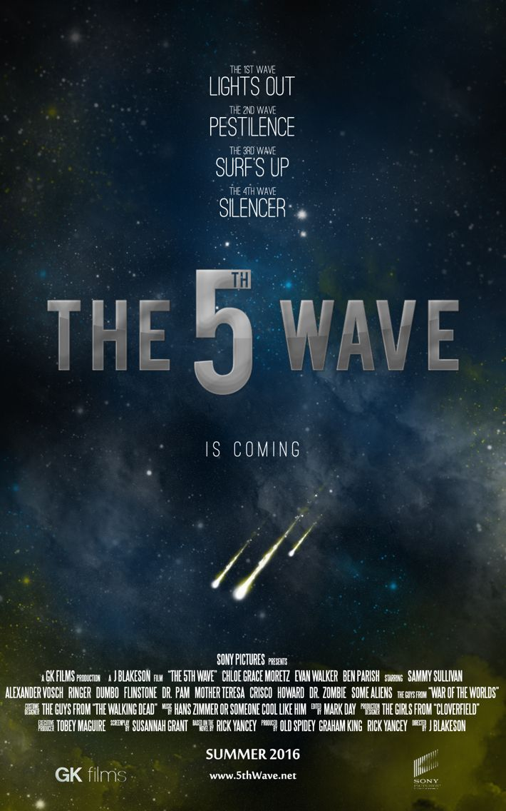 5th wave movie. Due to came out january 15, 2016, based on what google says. Eight more months.... *sigh*