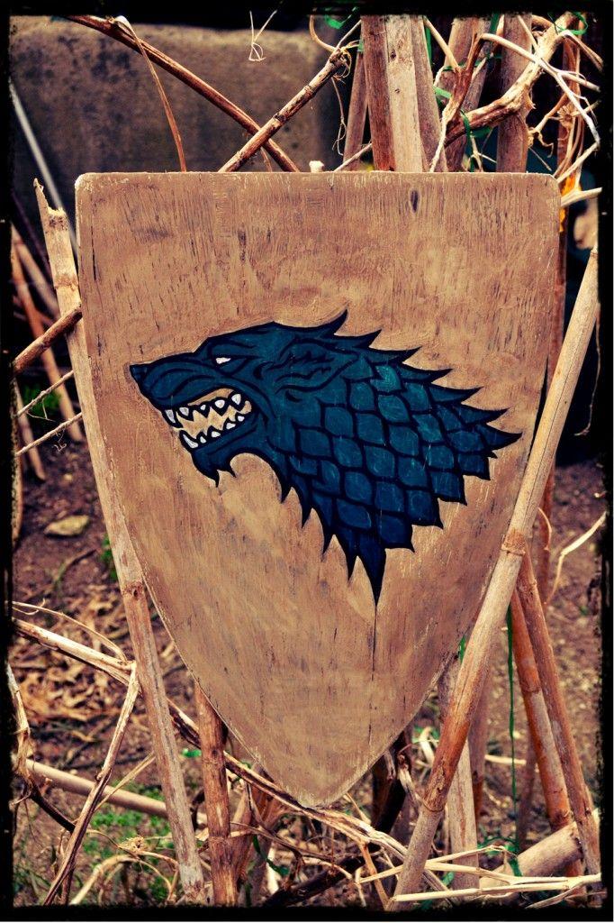 Game of thrones, Stark shield
