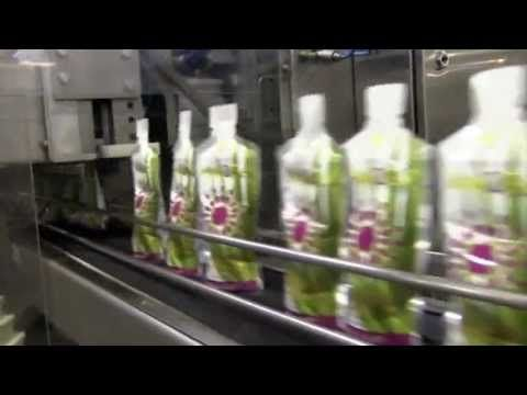 Production of Forever Aloe2Go® Aloe Drink - Learn how this wonderful drink is made. Forever Aloe2Go® combines the benefits of Aloe Vera Gel with the sweet, exotic taste, and the super antioxidant property of Pomesteen Power® in a convenient, easy-to-carry pouch. Contains pomegranate, pear, mangosteen, raspberry, blackberry, blueberry and grape seed extract.