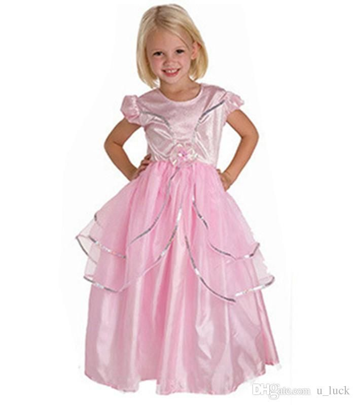 cinderella wedding dresses for girls children dresss for girls kids prom dresses pageant dresses ball gown - Pageant Girl Halloween Costume