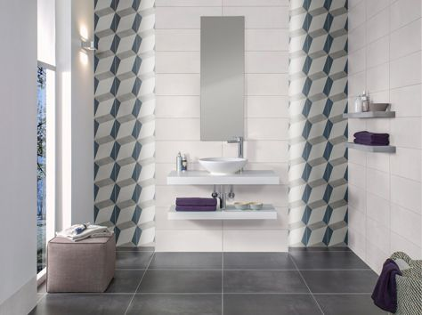 289 best PARTNER CERAMICI images on Pinterest Ascot, Bathroom - badezimmer fliesen villeroy und boch