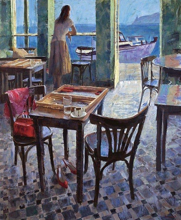 Morning coffee by Pavlos Samios